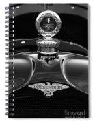1921 Duesenberg Hood Ornament Spiral Notebook