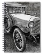 1921 Hudson-b-w Spiral Notebook