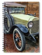 1921 Hudson-featured In Vehicle Enthusiasts And Comfortable Art And Photography And Textures Groups Spiral Notebook