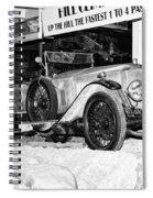1921 Vauxhall 30/98e Spiral Notebook