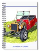 T Bucket Ford 1923 Spiral Notebook