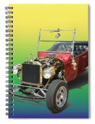 1923  Ford T Bucket  Spiral Notebook