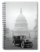1924 Ford Lincoln At U. S. Capitol Spiral Notebook