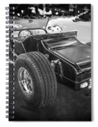 1925 Ford Model T Hot Rod Bw Spiral Notebook