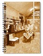 1925 Irish Shoe Store Spiral Notebook