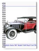 1927 La Salle Dual Cowl Phaeton Spiral Notebook
