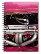 Antique Car Engine Spiral Notebook