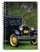1928 Ford Model A Tudor Spiral Notebook