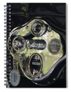 1928 Ford Model A Tudor Interior Spiral Notebook