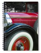 1928 Hupmobile Century Model E4 4 Door Sedan Spiral Notebook