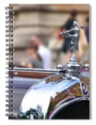 1928 Vintage Chrysler 72 Series - Hood Ornament Spiral Notebook