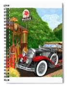 1929 Cadillac Dual Cowl Phaeton And Pegasus Spiral Notebook