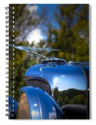 1929 Duesenberg Model J Covertible Coupe By Murphy Spiral Notebook