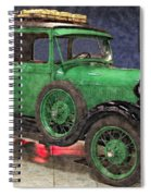1929 Ford Model A By Liane Wright Spiral Notebook