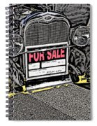 1929 Ford Model A For Sale Spiral Notebook