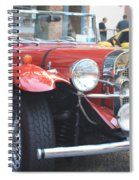 1929 Mercedes Benz Front And Side View Spiral Notebook