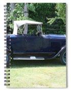 1929 Model-a Roadster 4 Spiral Notebook
