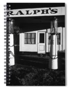 1929 Ralph's Service Station Armory Park Tucson Arizona Spiral Notebook