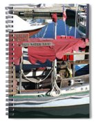 1929 Water Taxi Spiral Notebook