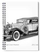 1931 Cadillac Phaeton Spiral Notebook