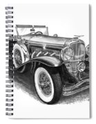 1930 Duesenberg Model J Spiral Notebook