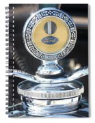 1930 Ford Model A - Hood Ornament - 7488 Spiral Notebook