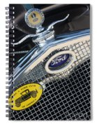 1930 Ford Model A - Radiator N Grill - 7479 Spiral Notebook