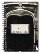 1930 Ford Model A Spiral Notebook