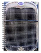 1930 Ford Model A Grille Spiral Notebook