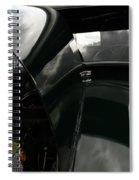 Antique Car Hood Spiral Notebook