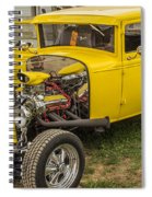 1930 Model A Coupe Spiral Notebook