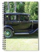 1930 Model-a Town Car 1 Spiral Notebook
