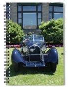 1930's Alfa Romeo Spiral Notebook