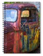 1930s Pickup Truck Spiral Notebook
