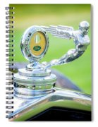 1931 Ford Model A Deluxe Fordor Hood Ornament Spiral Notebook