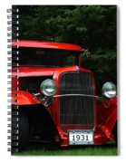 1931 Ford Panel Delivery Truck  Spiral Notebook