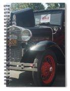 1931 Ford Sedan Spiral Notebook