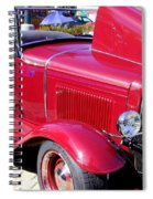 1931 Ford With Rumble Seat Spiral Notebook