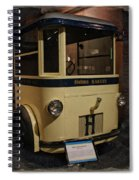 1931 Helms Bakery Truck Square Spiral Notebook