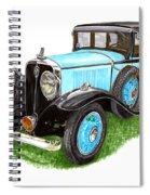 1931 Studebaker President Spiral Notebook