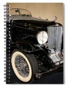 1932 Auburn Boattail Speedster Spiral Notebook