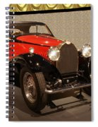 1932 Bugatti - Featured In 'comfortable Art' Group Spiral Notebook