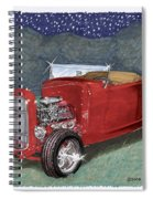 1932 Ford High Boy Spiral Notebook