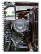 1932 Ford Roadster Head Lamp View Spiral Notebook