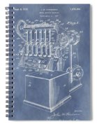 1932 Machine Patent Spiral Notebook