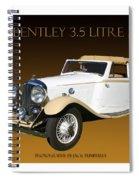 Bentley Derby D H C  Spiral Notebook