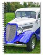 1933 Ford Vicky Spiral Notebook