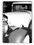 1933 Studebaker Digital Art Spiral Notebook