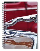 1934 Ford 6 Wheel Equip Hood Ornament Spiral Notebook