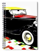 1934 Ford Phaeton V8  Spiral Notebook